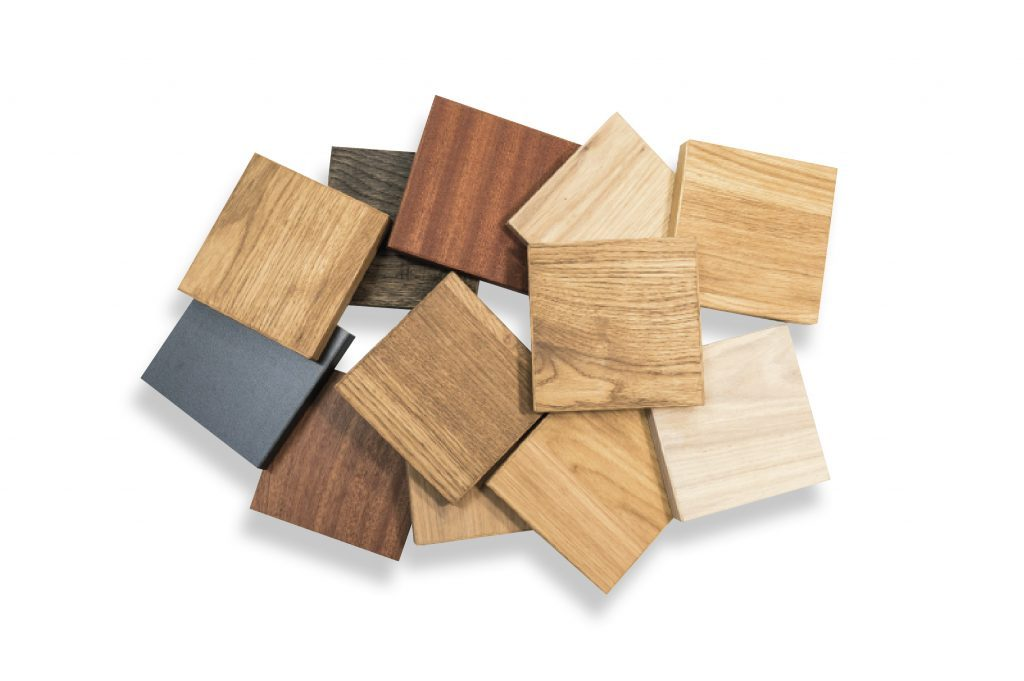 tack room equipment: various types of wood available