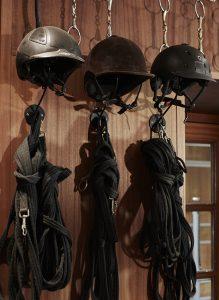 Sattelkammer mit Kappenstützen im Detail