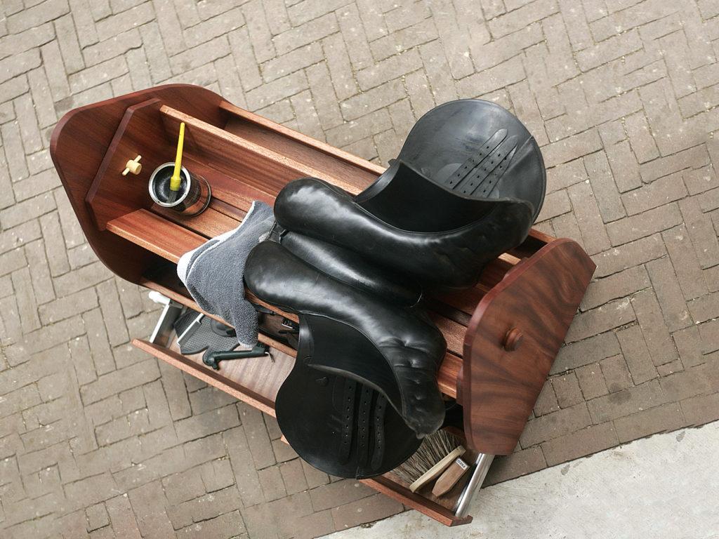 Zadelwagen onderhoud zadel